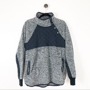 Abercrombie & Fitch Snap Pullover
